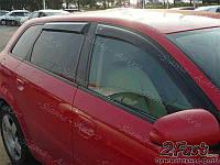 Ветровики-дефлекторы Audi A3 II 2003-2012 5дв.