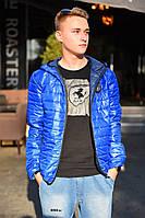 Мужская демисезонная куртка 8066 ш только т.син