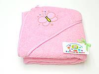 Махровый уголок для купания (розовый)