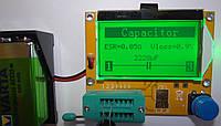 Т4 Измеритель ESR, LCR,тестер полупроводников 2.07