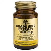 Экстракт виноградных косточек (Grape Seed Extract) Солгар №30