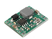 Импульсный DC-DC понижающий преобразователь MP1584EN mini, вх. 4,5-28В, вых.   0,8-20В, Iмакс. 3А, КПД 96%, 1MГц