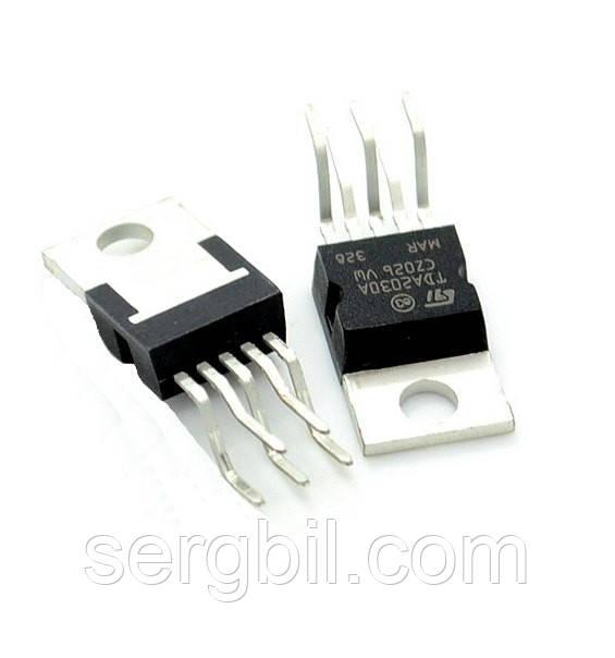 Мікросхема TDA2030A TO220-5 аудіо підсилювач 15Вт