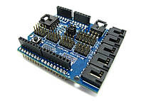Плата с разьемами для датчиков V4.0  для Arduino модулей UNO, Mega 2560, Duemilanove AVR