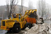 Погрузка и вывоз снега. Вывоз снега Киев.