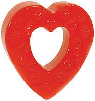 Эрекционное кольцо HEART SHAPED SILICON COCKRING - для романтиков!