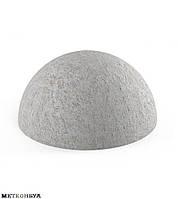 Полусфера бетонная 410х225 мм