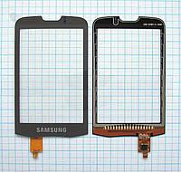 Тачскрин сенсорное стекло для Samsung GT-I7500 Galaxy black/grey