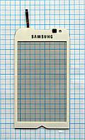 Тачскрин сенсорное стекло для Samsung GT-I8000 Omnia II white