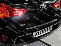 Накладка бампера Toyota Auris II 2012-н.в.