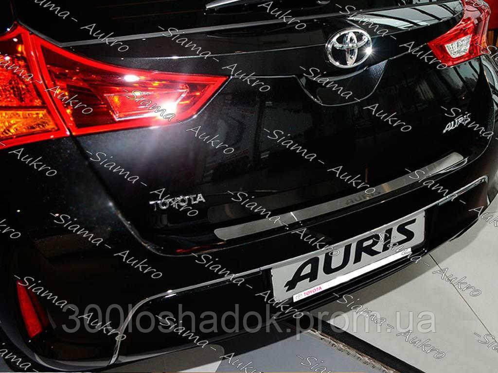 """Накладка бампера Toyota Auris II 2012-н.в. - Интернет-магазин """"300 Лошадок"""" в Запорожье"""