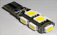 Cветодиодные лампы безцокльные габаритные 9SMD адаптивные