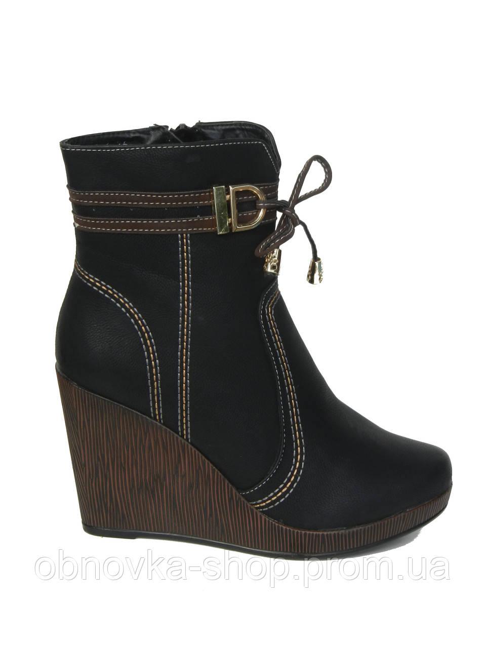 49393a09d Ботинки на танкетке женские - Интернет-магазин одежды и обуви в Харькове