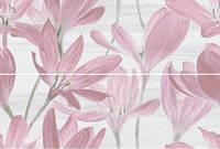 Панно Сады Форбури Крокус розовый обрезной 60х89,5 см (13012R\A\B\3F)