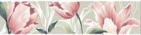 Бордюр Норфолк Цветы зеленый 30х7,2 см (STG\B270\11000T)