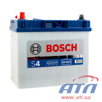 Аккумулятор 6CT-45 Asia 0092S40220   S4, левый +, тонкие клеммы, 330A