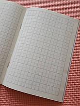 Тетрадь для написания иероглифов. Клетка 13 мм с пунктиром. 2688 клеток