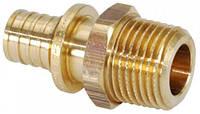 RAUTITAN MX 16 - R 1/2 - переходник комбинированный с наружной резьбой и под пайку медных труб