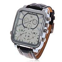 Наручные часы V 6 Super Speed. Мужские кварцевые часы с дополнительными циферблатами