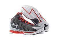 Мужские баскетбольные кроссовки Under Armour Curry One Grey/Red