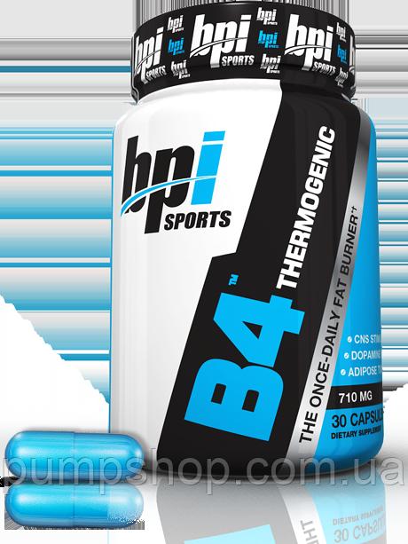 Жіросжігателя BPI B4 Sports -30 капсул