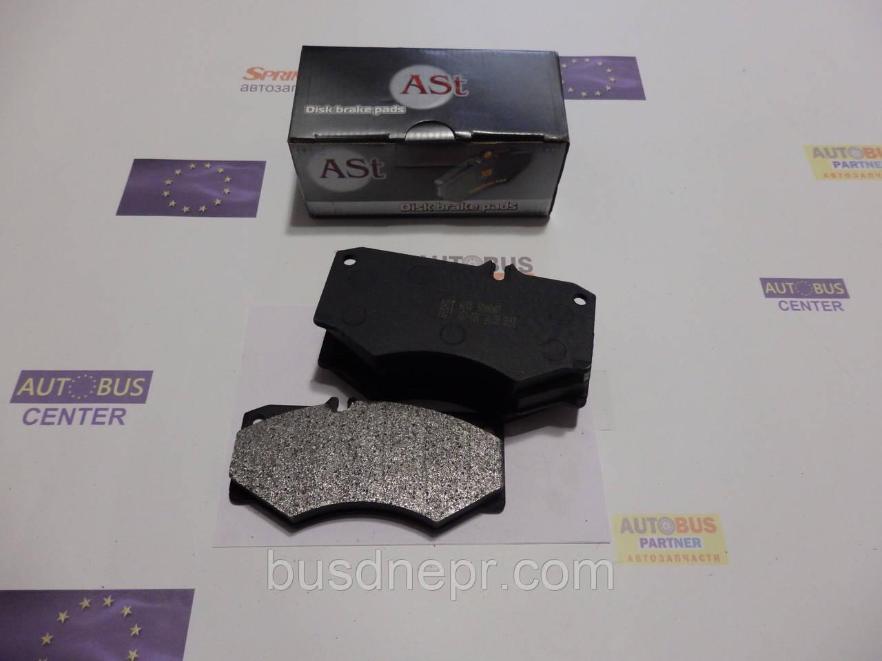 Тормозные колодки, передние AST AS 784 MB 207-410