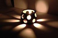 Світильник глиняний, ручна робота, фото 1