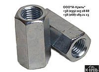 Гайка переходная высокая М5 DIN 6334 нержавеющая