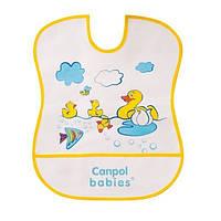 Слюнявчик хлопчато-клеенчатый Canpol Babies 1 шт. (2/963)