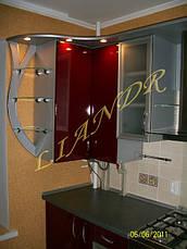 Кухня с алюминиевыми фасадами, фото 2