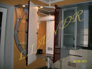 Кухня с алюминиевыми фасадами, фото 3