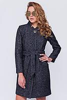 Женское модное осеннее твидовое пальто