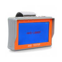 """AHD видеотестер-монитор с 4.3"""" экраном 1080P с поддержкой CVBS камер и UTP портом для витой пары (AHD K1217)"""
