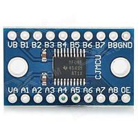 Конвертер уровней TTL TXS0108E Arduino PIC ARM [#7-5]
