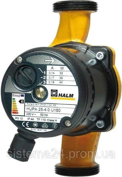 Насос циркуляционный HALM HUPA 25-6.0 U 180