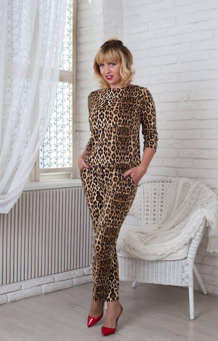 Костюм Бритни 0197_4 Леопардовый