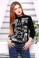 Прикольный женский свитшот демисезонный (Дайвинг) / Boy London кофта Свитшот №2 (весна) д/р