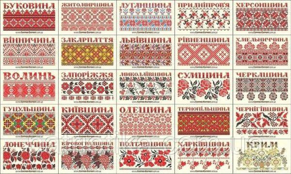 История украинского рушника