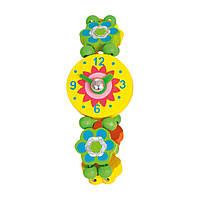 Годинник іграшковий Квіти