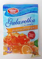Galaretka Желе со вкусом апельсина 90 гр Kraw Pak Польша