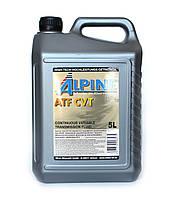 Масло трансмиссионное Alpine ATF CVT 5л