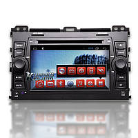 Штатная магнитола Toyota Land Cruiser Prado 120 Android RedPower