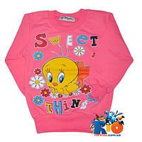 Кофта Sweet Thing детская, осень, для девочек, интерлок, 1-2-3-4 года
