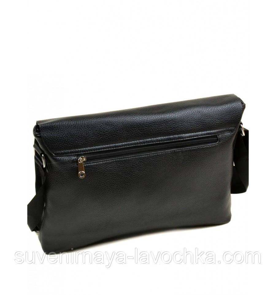 Сумка Мужская Планшет иск-кожа dr.Bond 88564-4 black,сумка небольшая, практичная