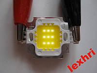 """Светодиодная матрица """"10W"""" led """"10W""""  2700-3200К  0.4A"""
