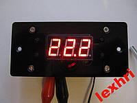 Терморегулятор Термостат -40°С --- +120°С/12А с лицевой панелью