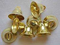 Колокольчики металлические (большие) d=25мм (цена за 1шт). Цвет - золото