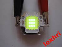 """Светодиодная матрица """"10W""""  led """"10W""""  6000-6500K  0.6A"""