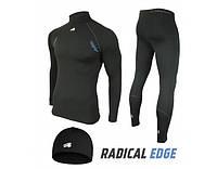 Мужское термобелье Radical EDGE, комплект термобелья с шапкой в подарок