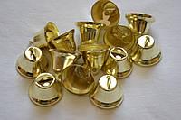 Колокольчики металлические (большие) d=21мм (цена за 1шт). Цвет - золото